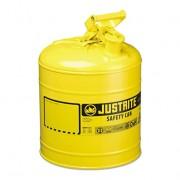 Bidones para inflamables Justrite metálicos Tipo I - Color amarillo para Gas oil