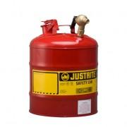 Bidones Justrite - Bidones para laboratorio metálicos Justrite 7150147 (ex 10877) con grifo 08540 - 19 lts.