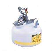 Bidones para laboratorio no metálicos Justrite PP12752 - línea Centura™ Modelo PP - 8 lts.