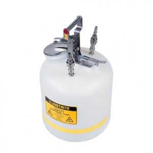 Bidones de Seguridad para Laboratorios - Bidones para laboratorio no metálicos Justrite TF12755 - Linea Centura™ Modelo TF - 19 lts.