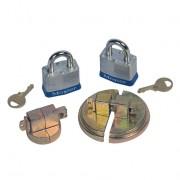 Tapones de seguridad para tambores de 200 litros Justrite 08510
