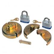 Tapones de seguridad para tambores de 200 litros Justrite 08511