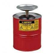Humectadores de seguridad con pistón Justrite 10308 - 4 litro - Color rojo