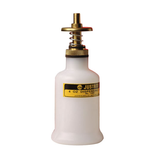 Dispensadores plásticos Justrite 14002 - 0,12 litros