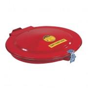 Tapas de seguridad para tambores de 200 litros, cierre manual con junta y ventilación Justrite 26752