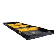 Piletas para contención de derrames Justrite 28574 Decon QuickBerm® - 1,83 x 6,10 x 0,20 mts - 2.264 litros
