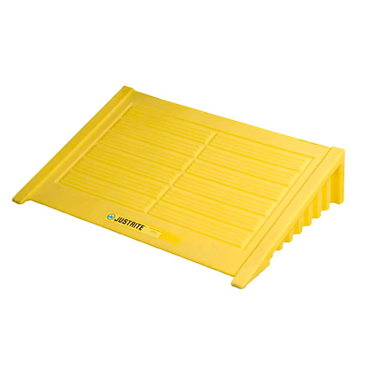 Rampa para pallet para derrames Justrite 28620 EcoPolyBlend™ - Color amarillo