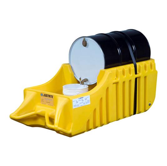 Caddys antiderrames para Tambores - Color Amarillo