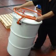 Volantes V1 para el desplazamiento de tambores