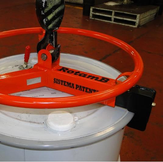Volantes V2 para izaje y traslado de tambores