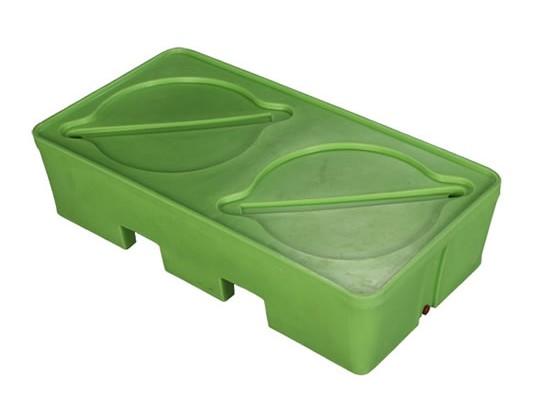 Pallets Antiderrame - Pallets plásticos monoblock
