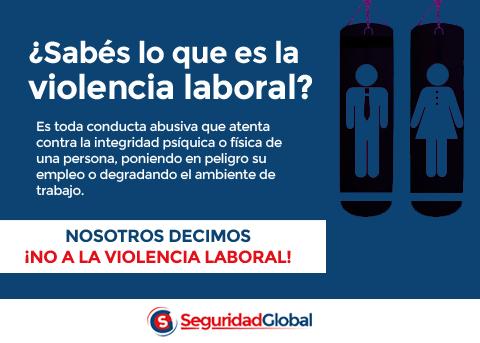 Por un Trabajo Digno sin Violencia Laboral