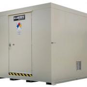 Gabinetes para Tambores Justrite 911161 almacenamiento en exterior